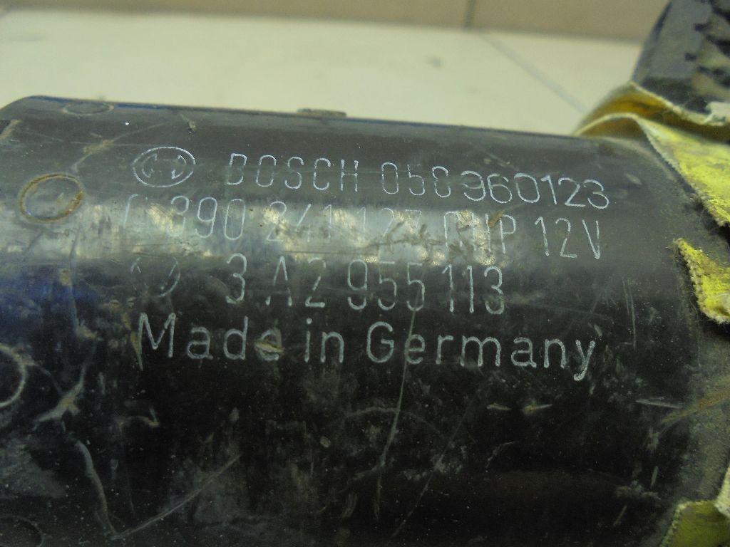 Моторчик стеклоочистителя передний 357955113C