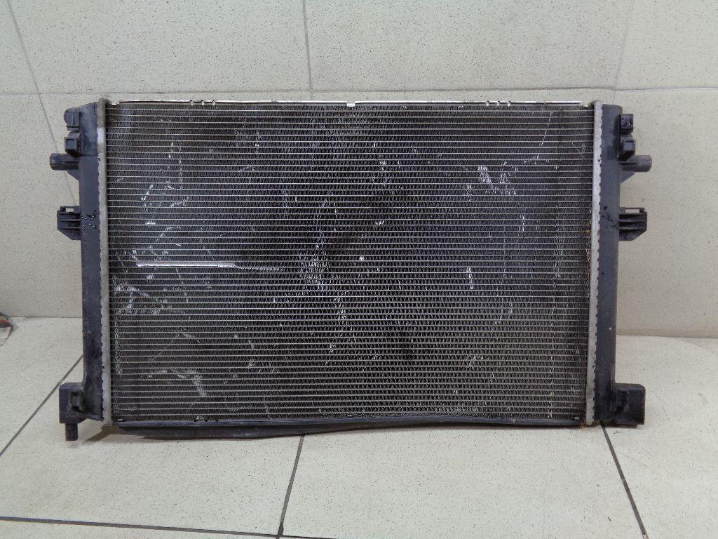Радиатор дополнительный системы охлаждения 5Q0121251GF