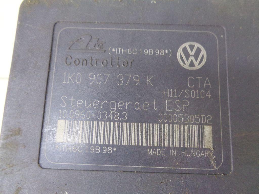 Блок ABS (насос) 1K0907379K