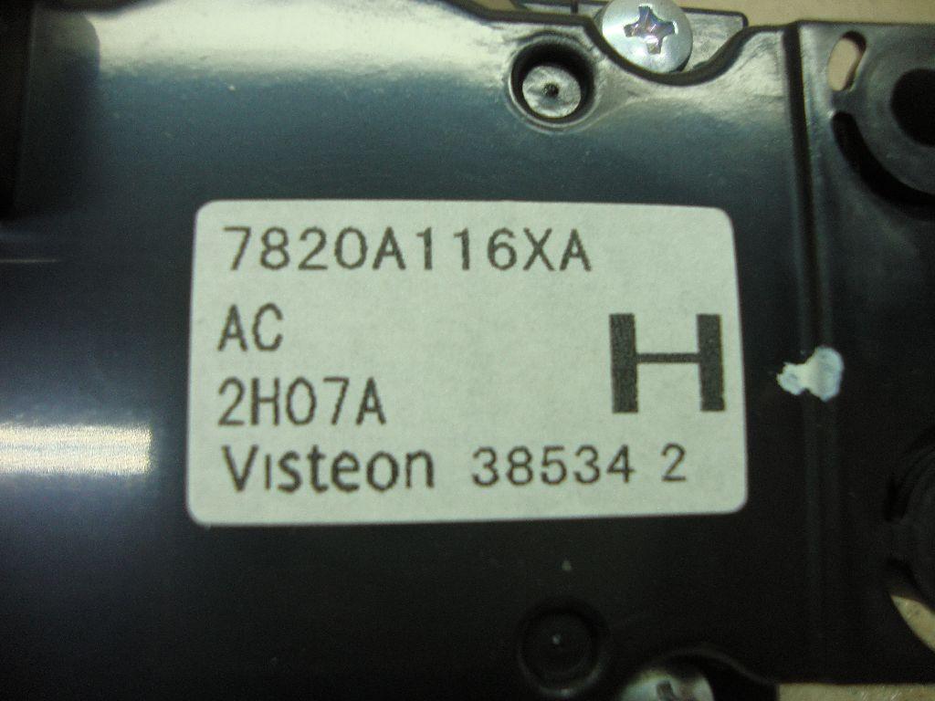 Блок управления отопителем 7820A116XA