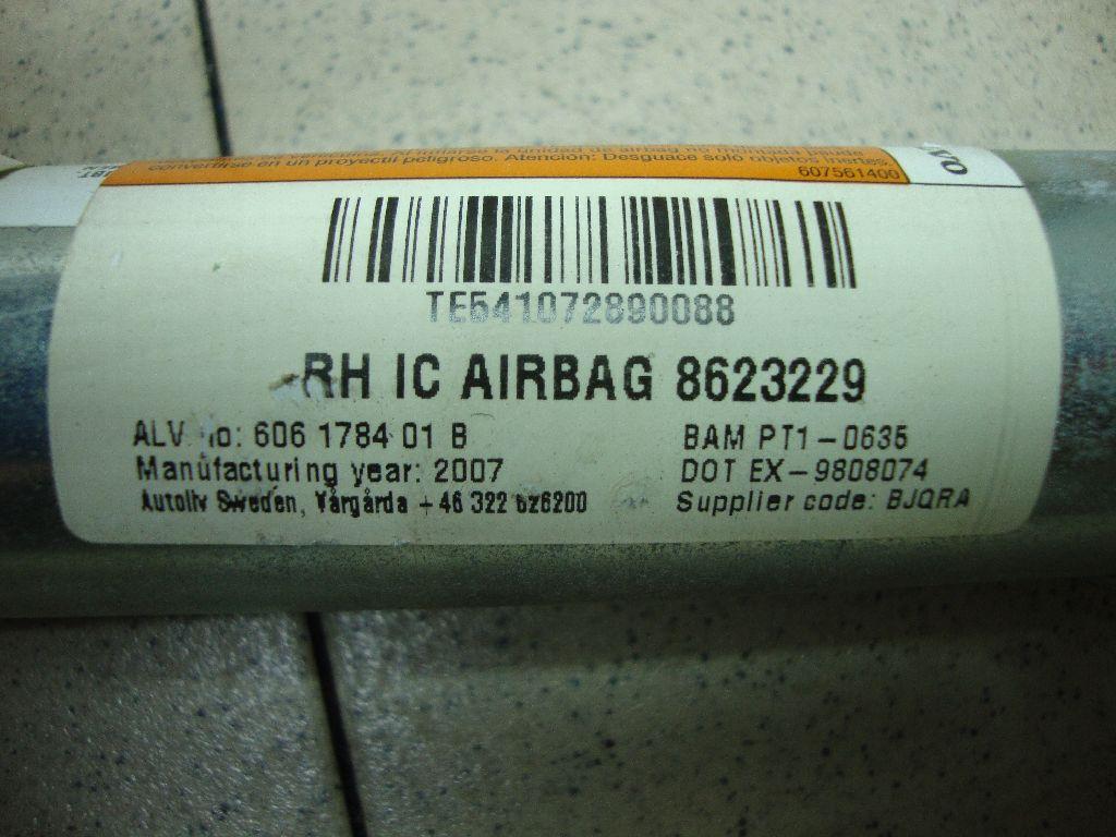 Подушка безопасности боковая (шторка) 8623229