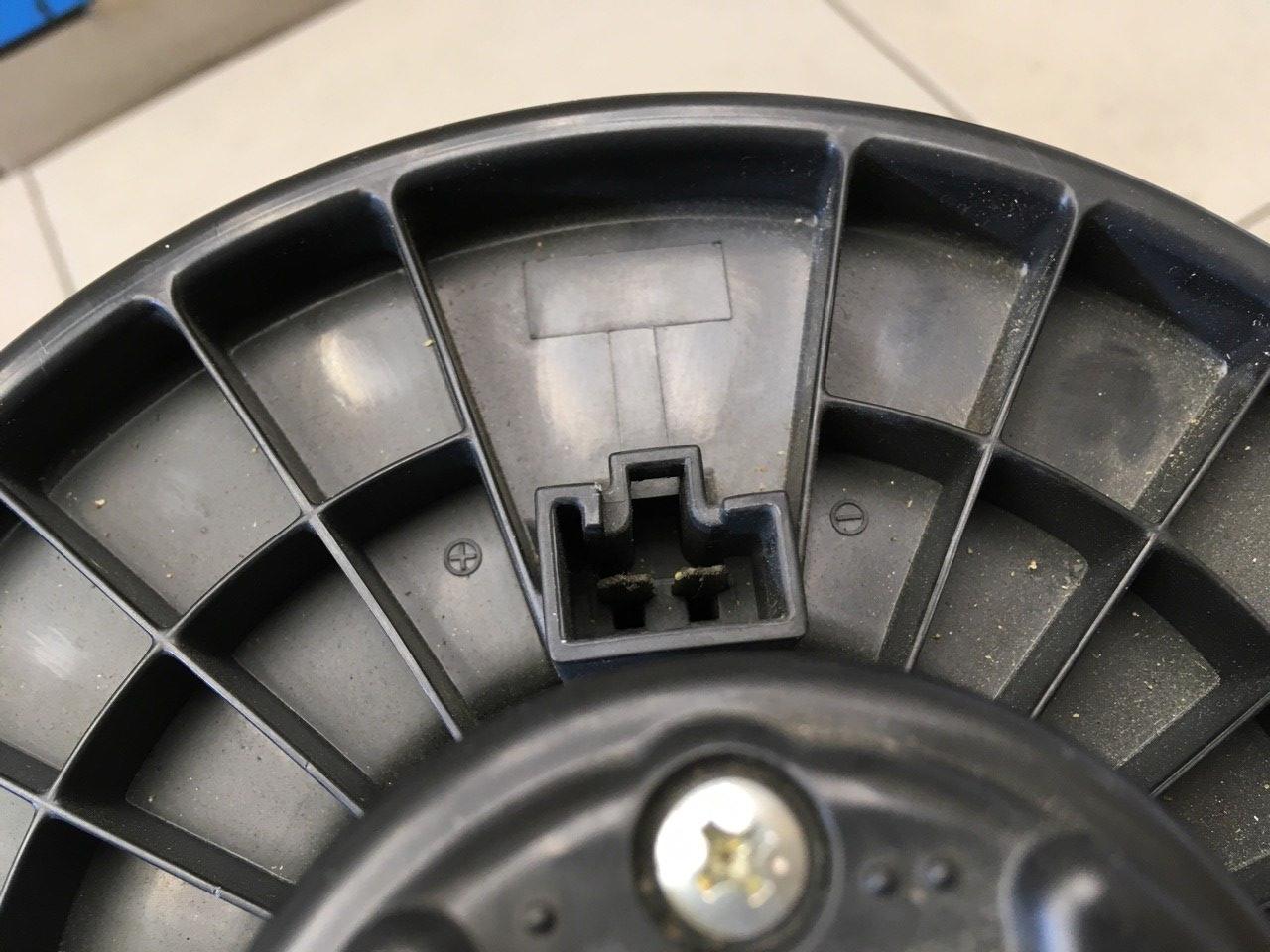 Моторчик отопителя 7801A115