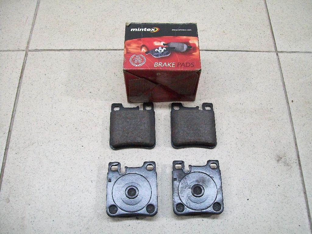 Колодки тормозные задние дисковые к-кт MDB1627
