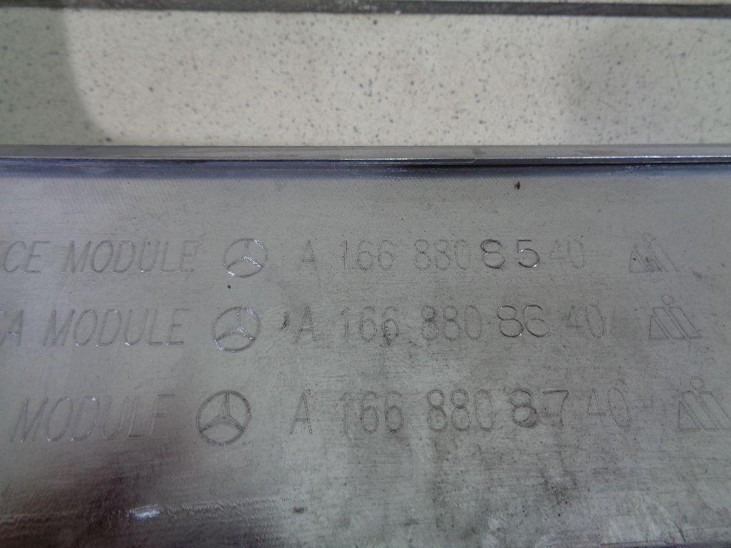 Накладка переднего бампера 1668857925