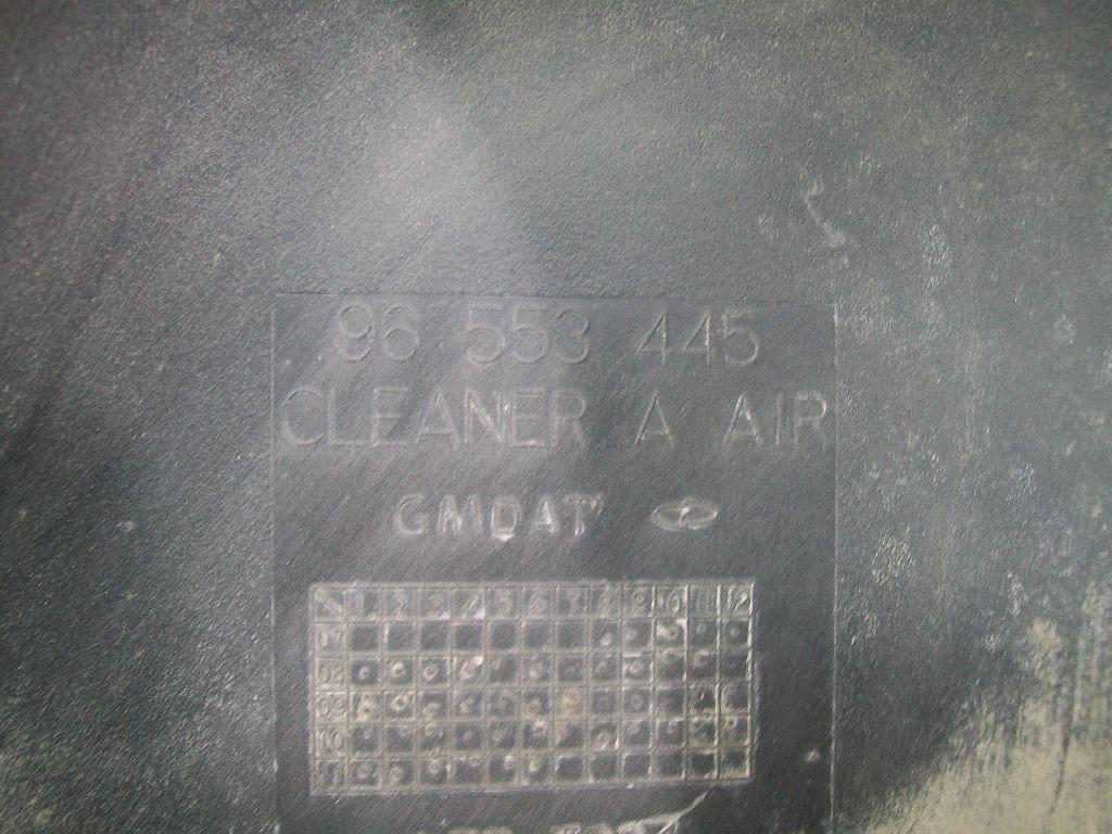 Корпус воздушного фильтра 96553445