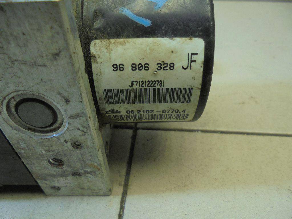 Блок ABS (насос) 96806328