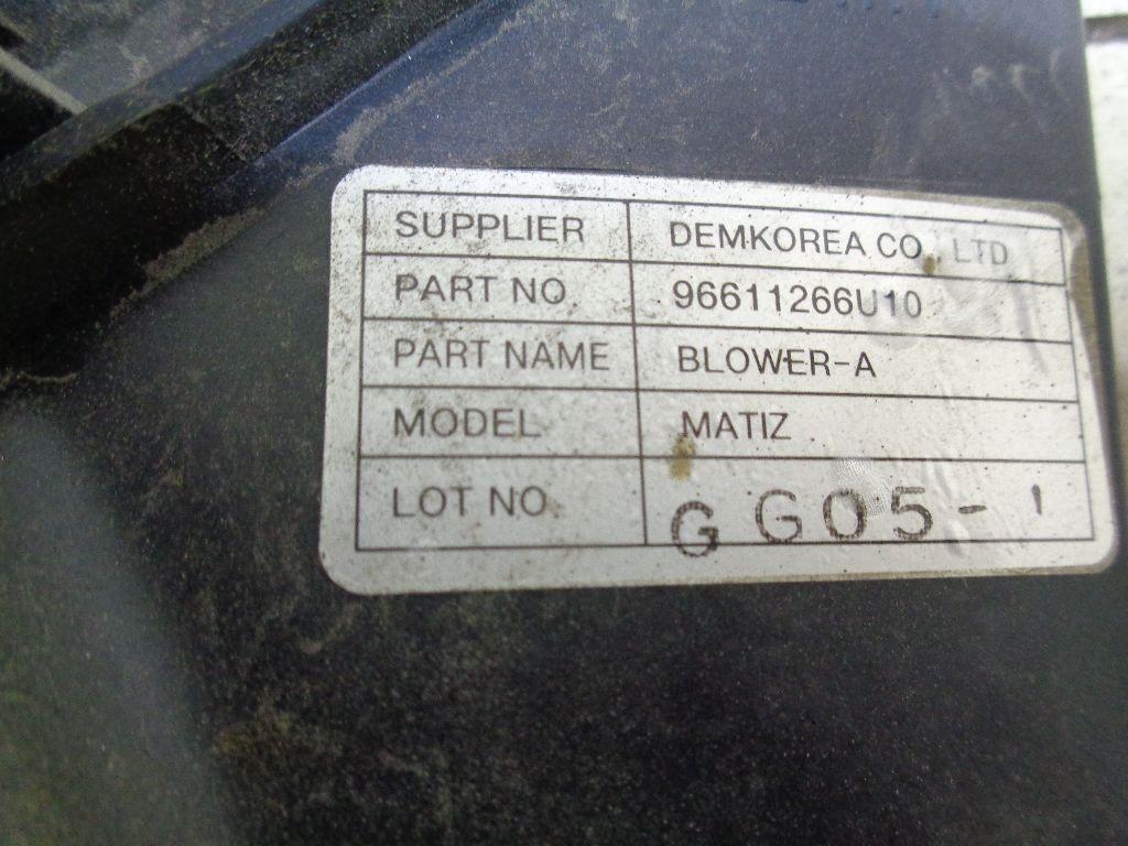 Вентилятор радиатора 96611266