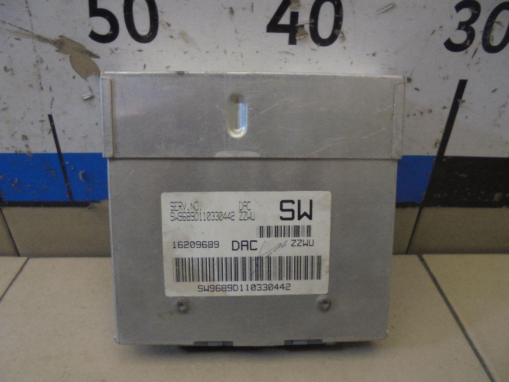 Блок управления двигателем 16209689