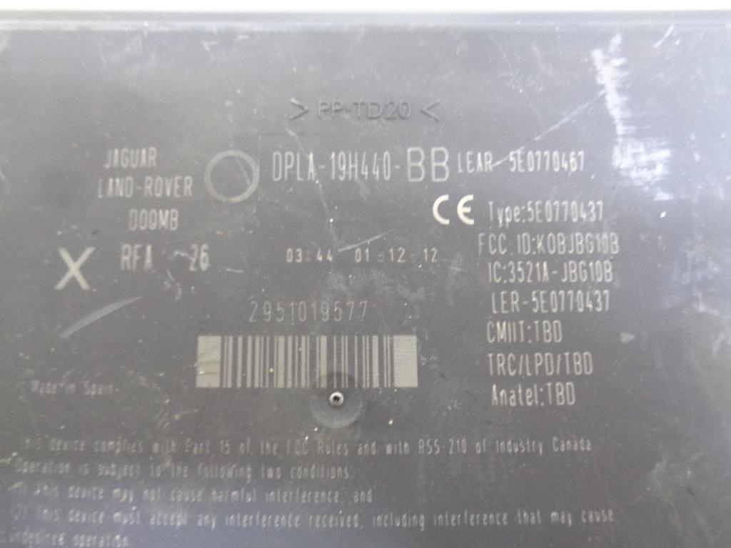 Блок электронный DPLA19H440BB