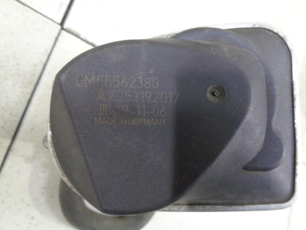 Заслонка дроссельная электрическая 55562380