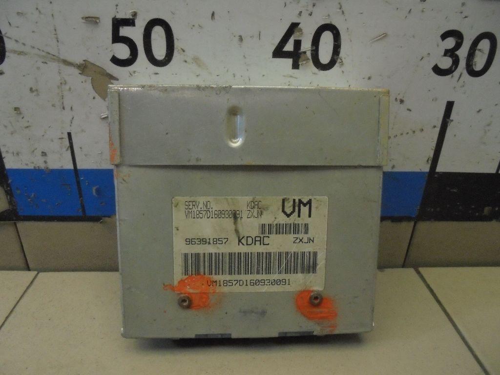 Блок управления двигателем 96391857