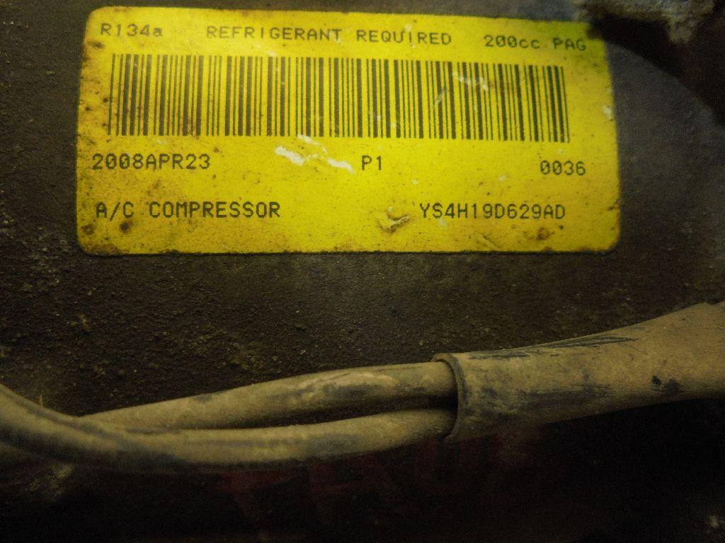 Компрессор системы кондиционирования YS4H19D629AD