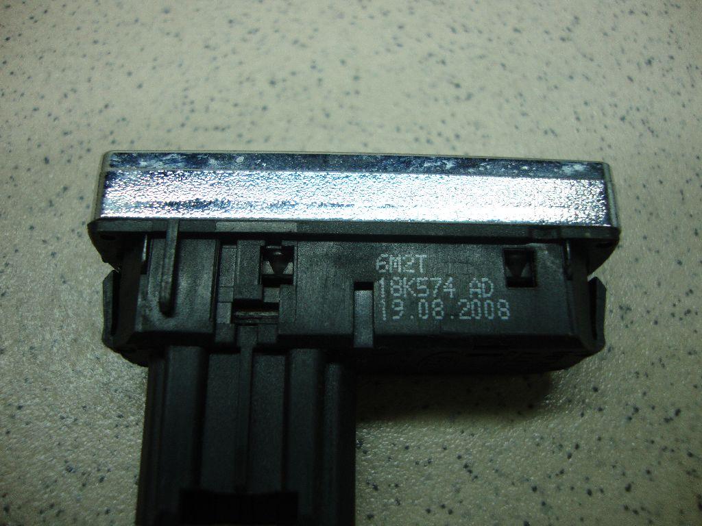 Кнопка обогрева переднего и заднего стекла 6M2T18K574AD