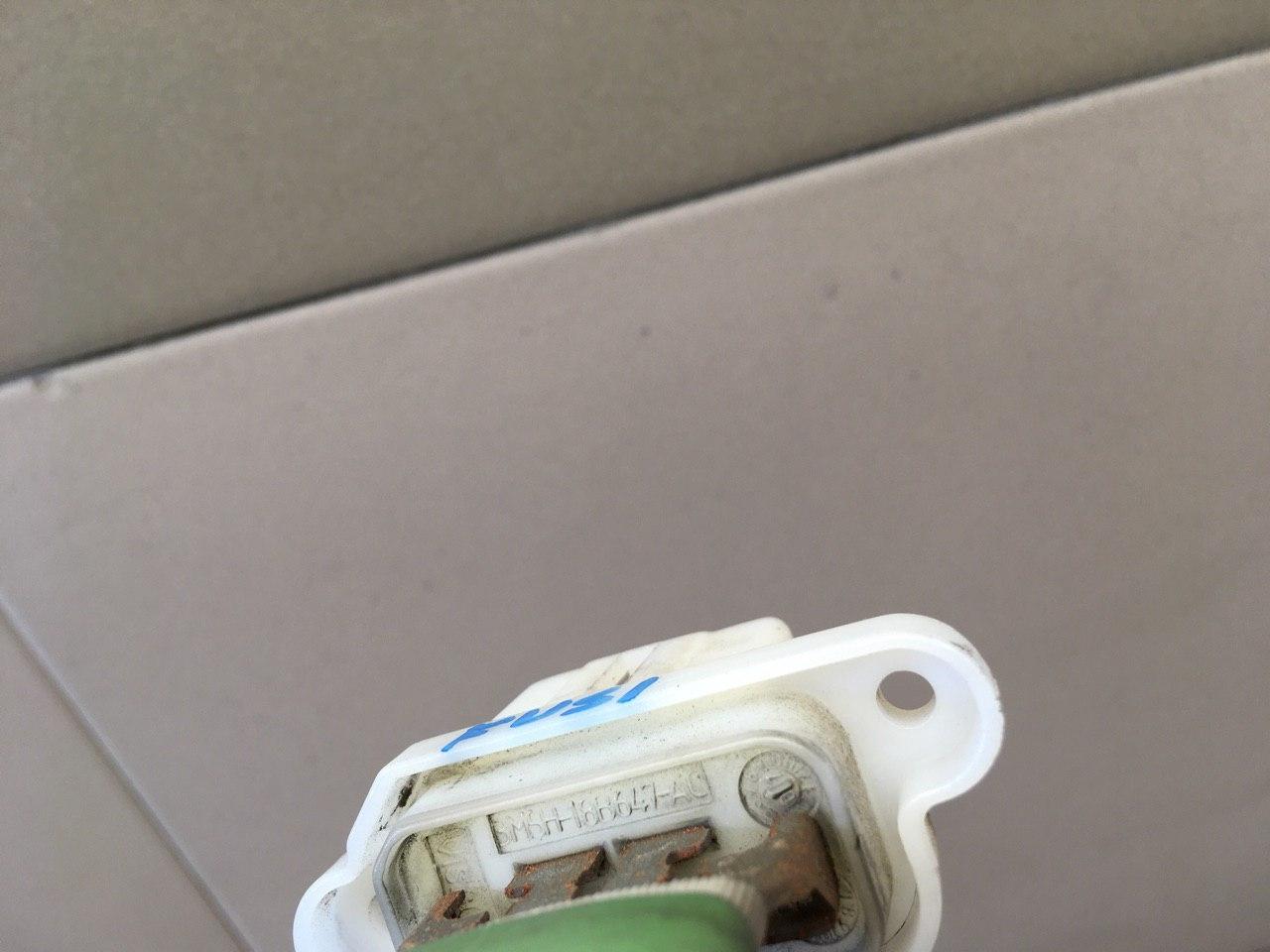 Резистор отопителя 3M5H18B647AC