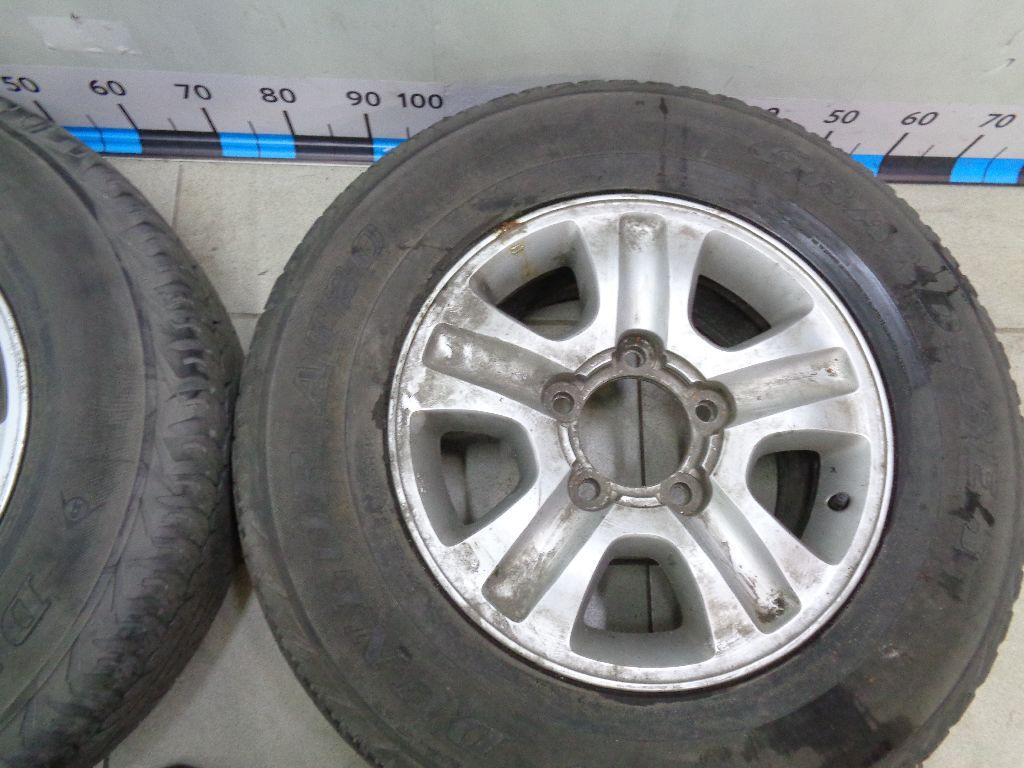 Диски колесные легкосплавные (к-кт)  фото 6