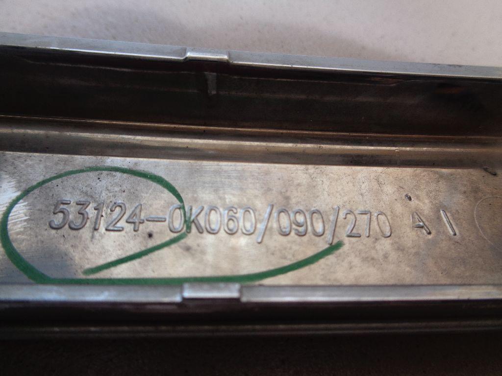 Накладка на решетку радиатора 531240K060