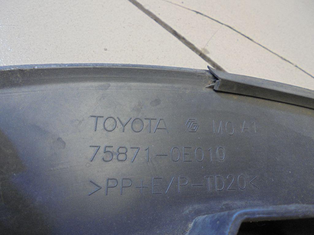 Накладка переднего крыла правого 758710E010