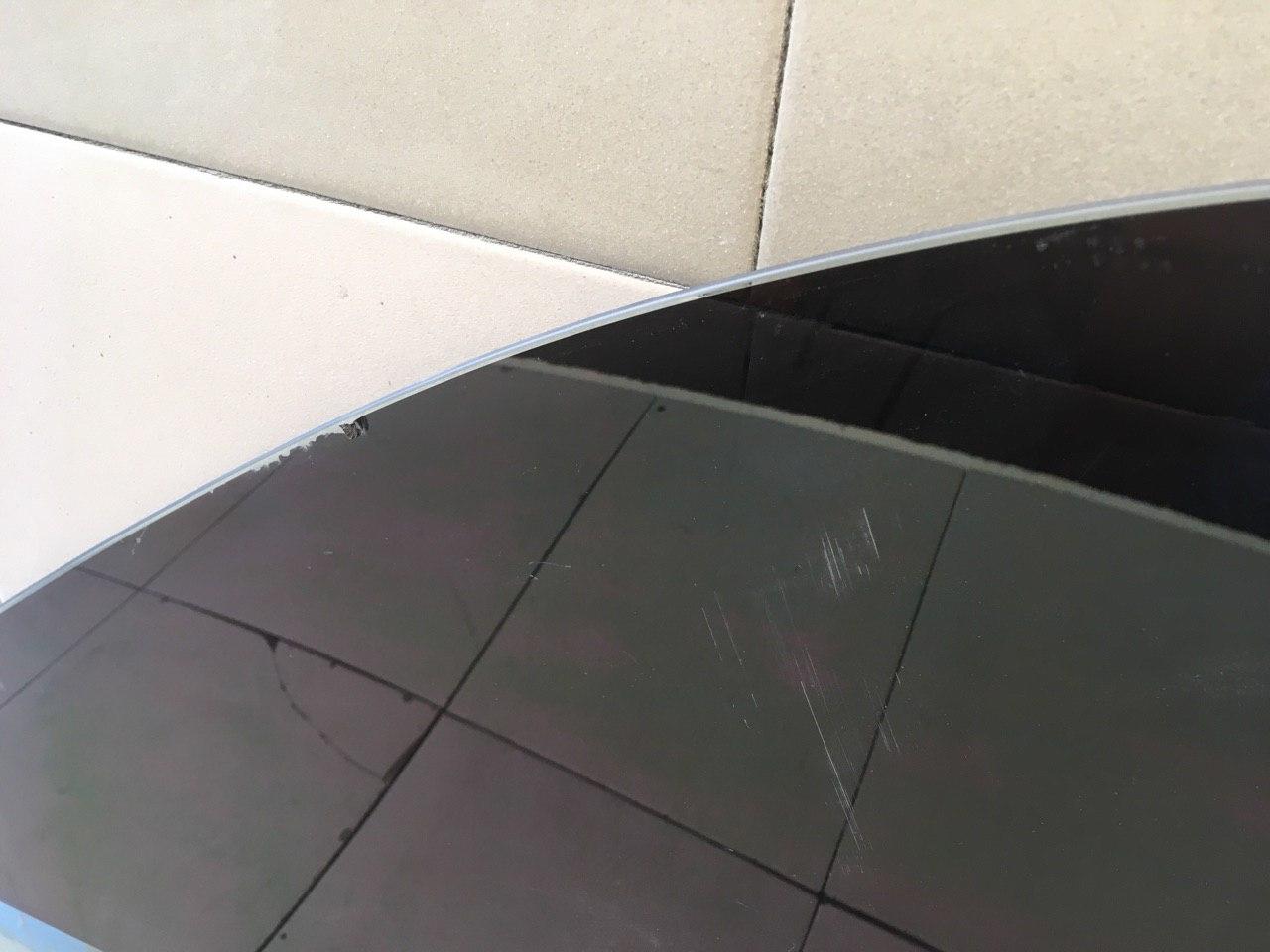 Стекло двери передней правой 61011AG000 фото 5