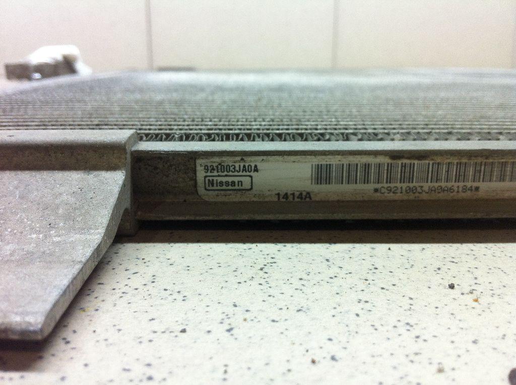 Радиатор кондиционера (конденсер) 921003JA0A