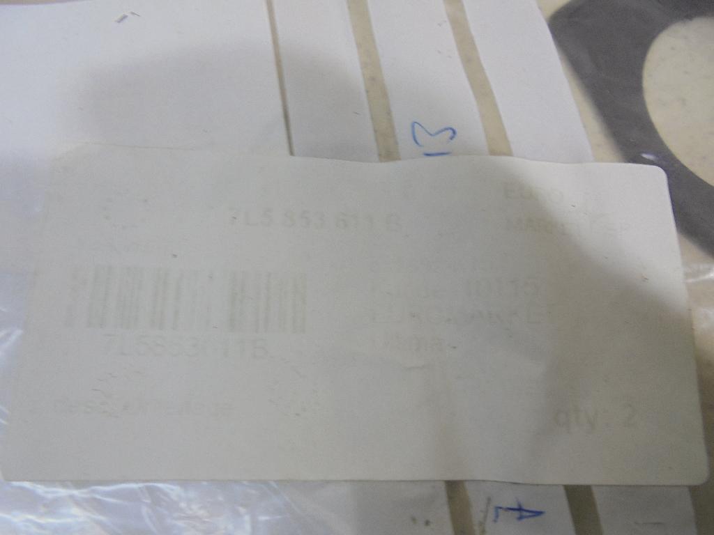 Прокладка (кузов наружные) 7L5853611B фото 3