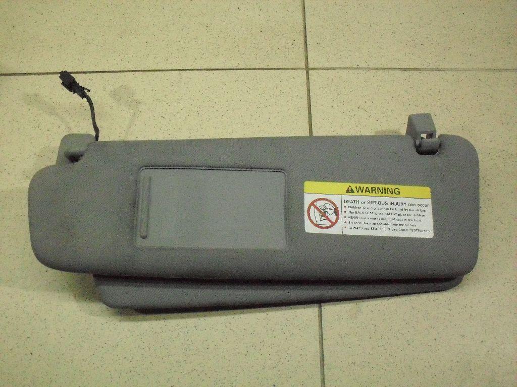 Козырек солнцезащитный (внутри) 7L5857551AG фото 3
