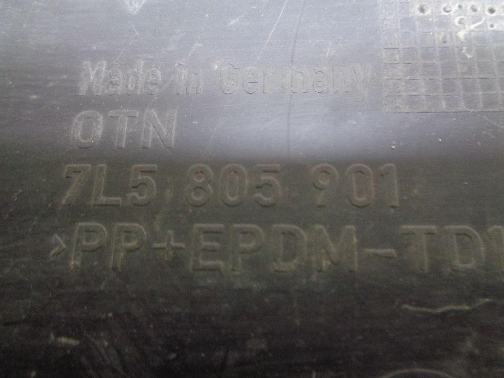 Накладка переднего бампера 95550590011
