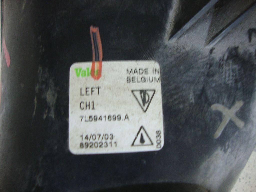 Фара противотуманная левая 7L5941699A
