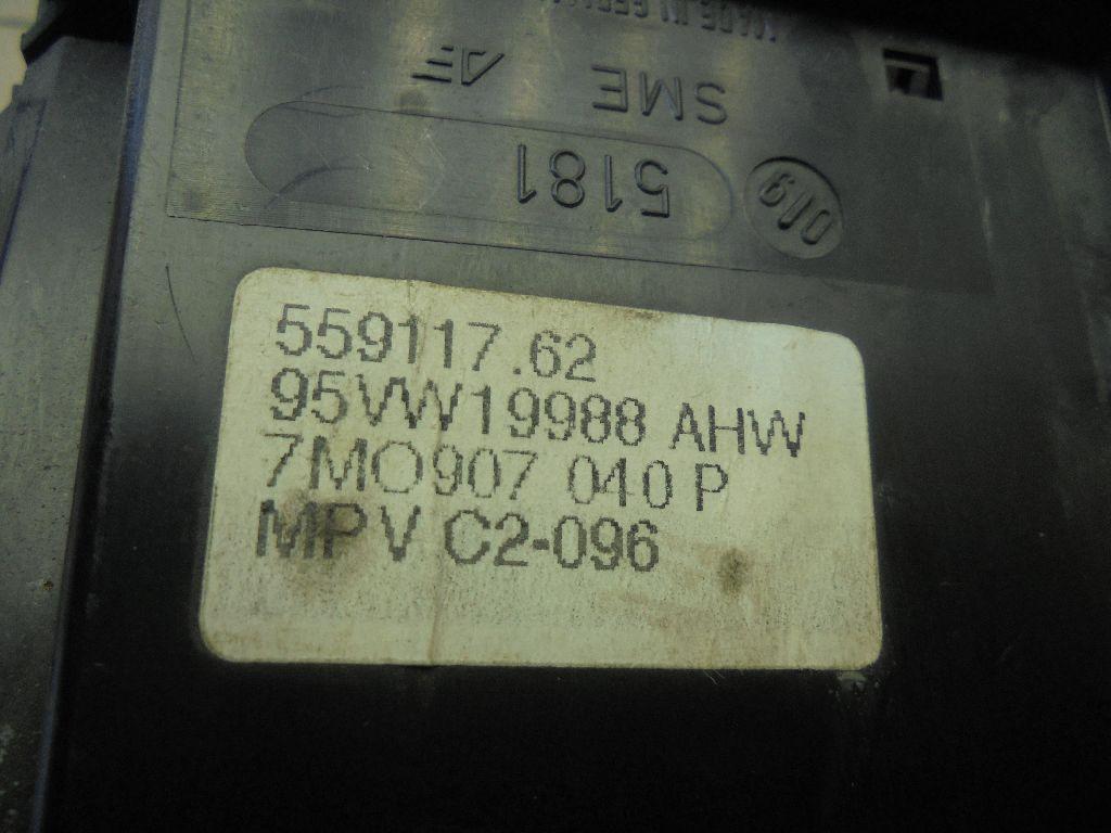 Блок управления климатической установкой 7M0907040P
