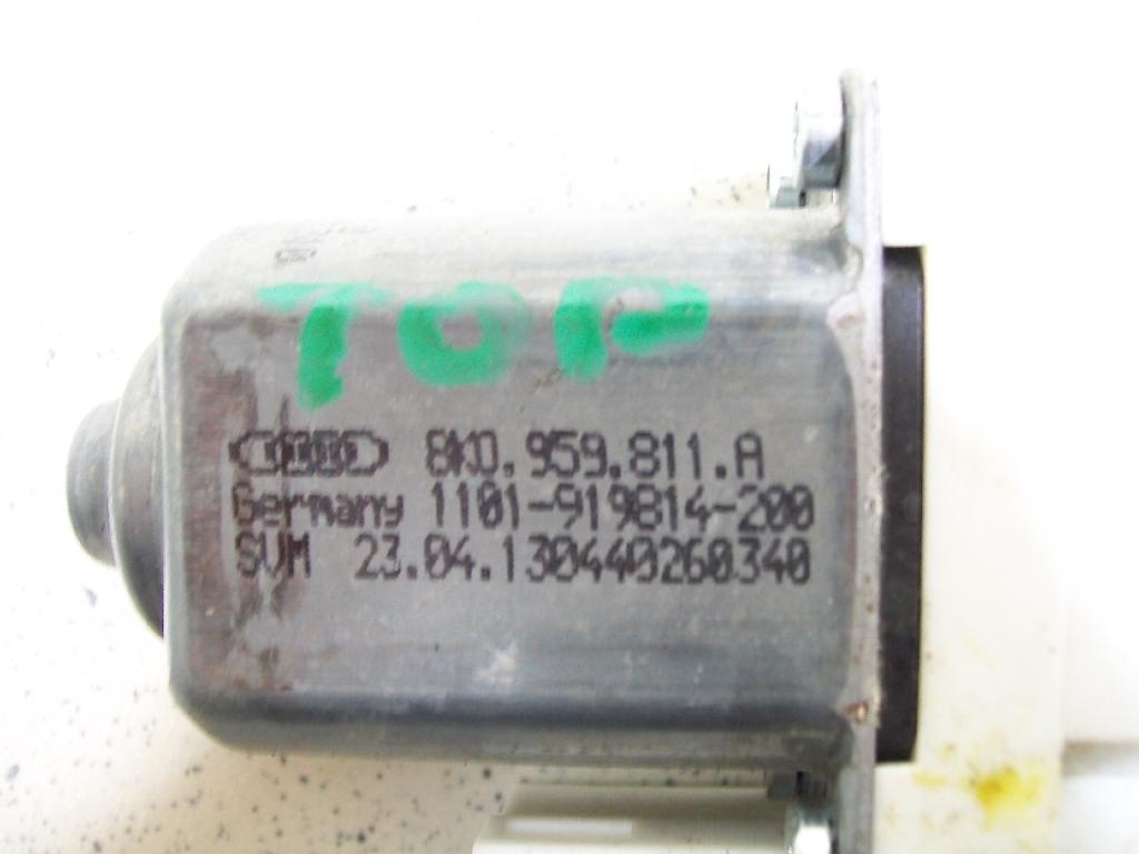 Моторчик стеклоподъемника 8K0959811A