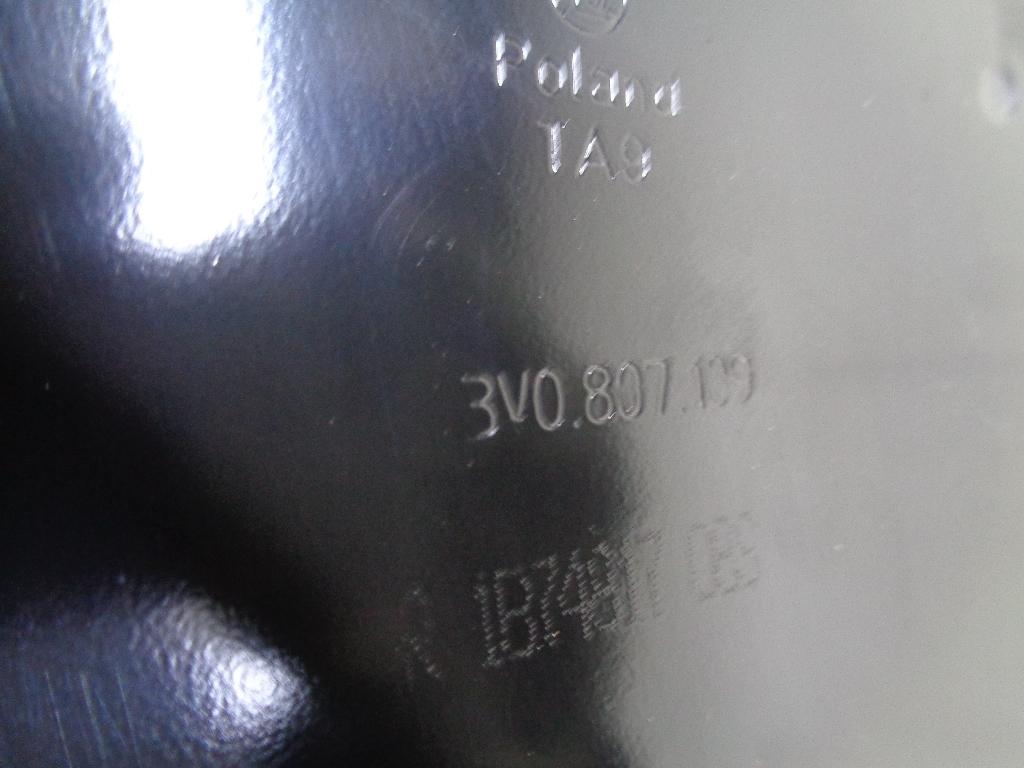 Усилитель переднего бампера 3V0807109