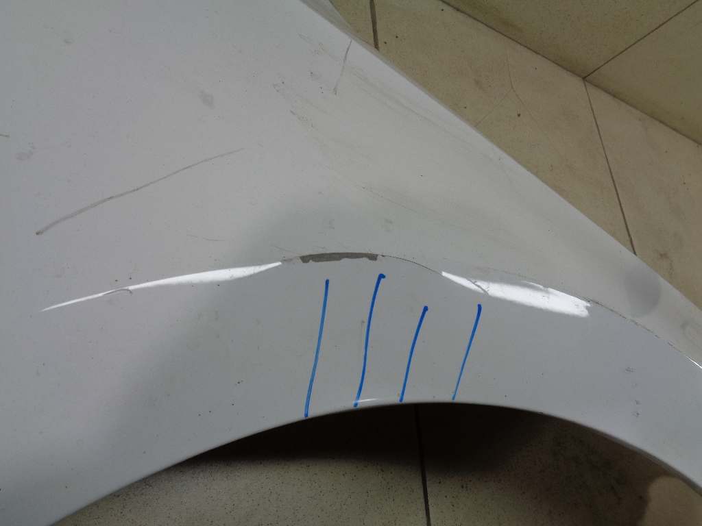 Крыло переднее правое 5JA821022C