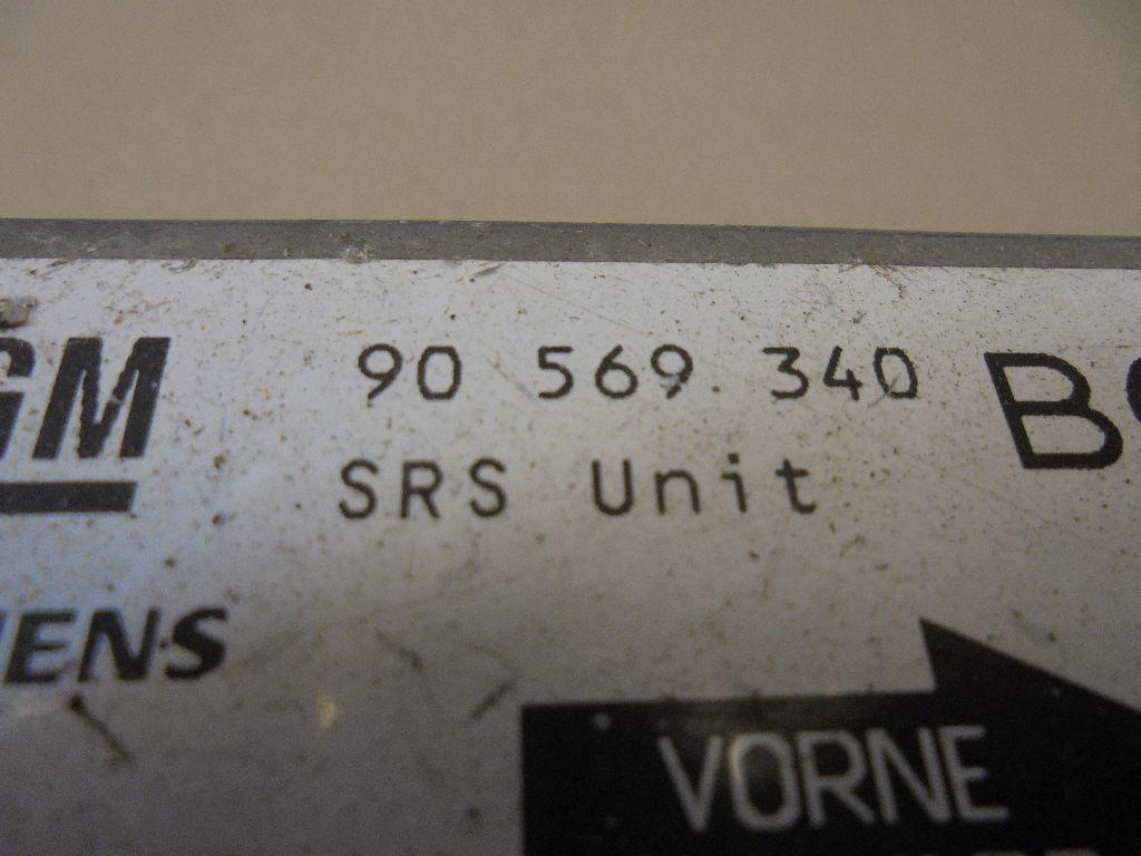 Блок управления AIR BAG 90569340