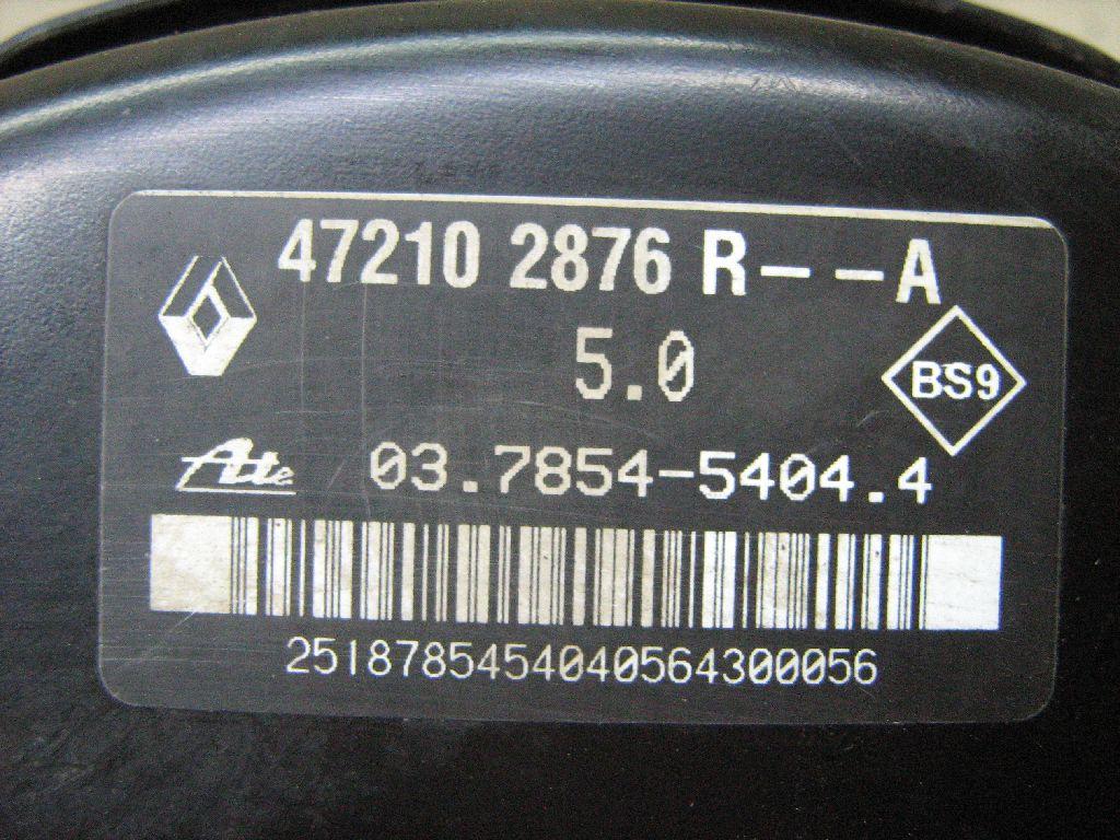 Усилитель тормозов вакуумный 472102876R