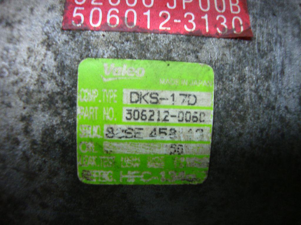 Компрессор системы кондиционирования 92600JP00B фото 3
