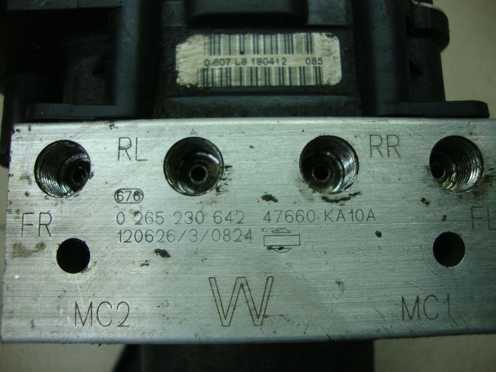 Блок ABS (насос) 47660KA10A