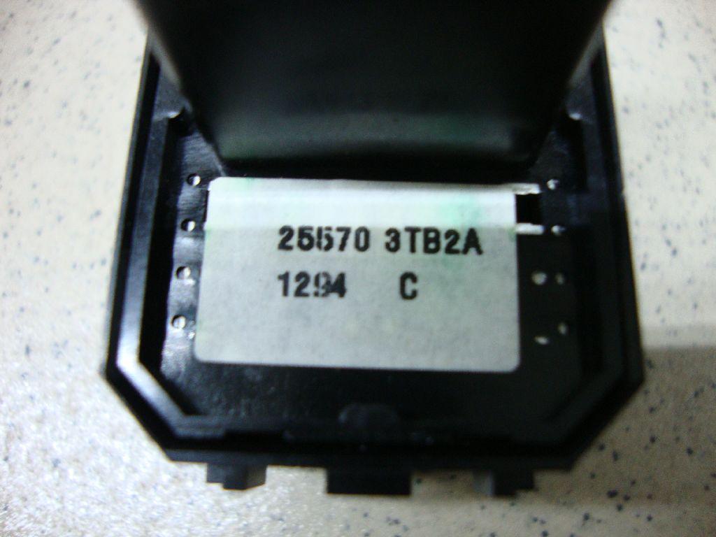 Переключатель регулировки зеркала 255703TB2A