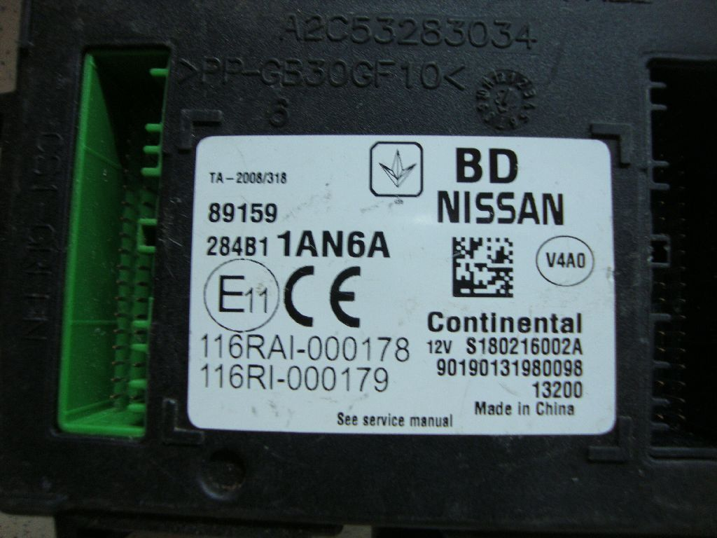 Блок электронный 284B11AN6A