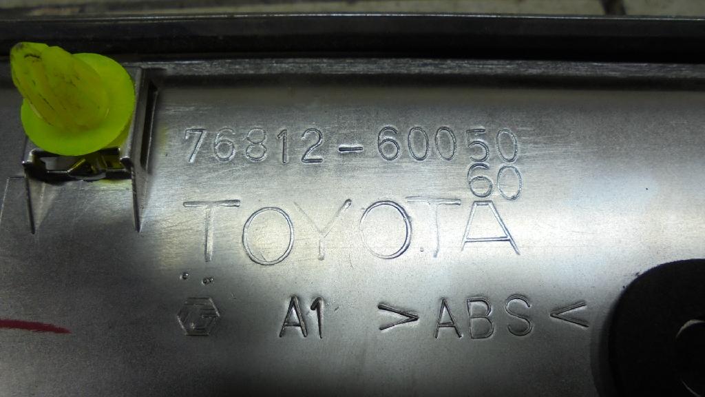 Накладка двери багажника