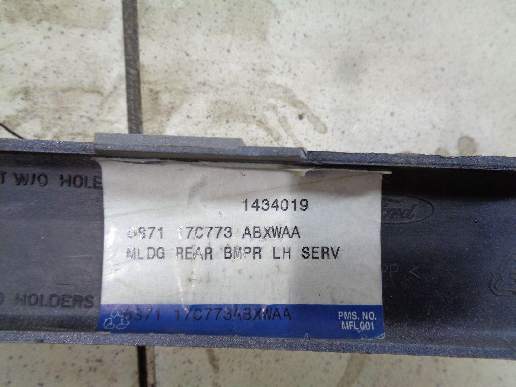 Молдинг заднего бампера левый 1434019