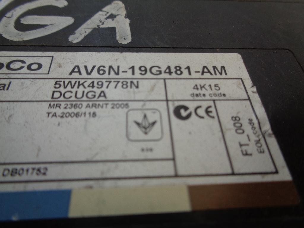 Блок управления центральным замком AV6N19G481AM