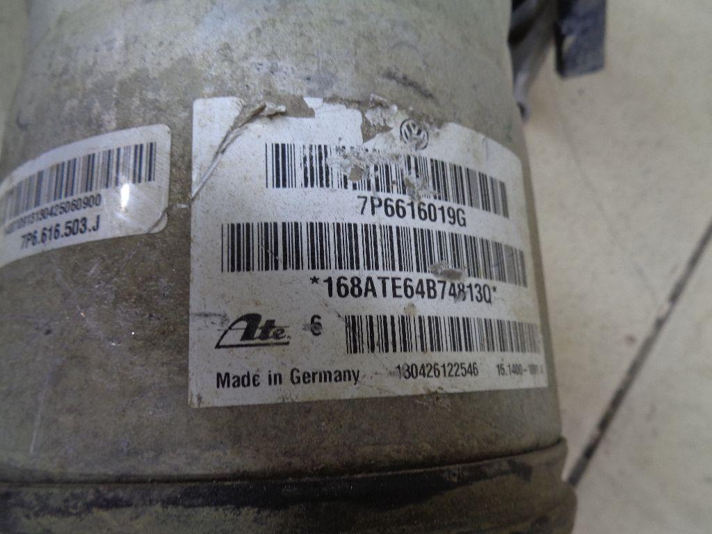 Амортизатор задний левый 7P6616019G фото 4