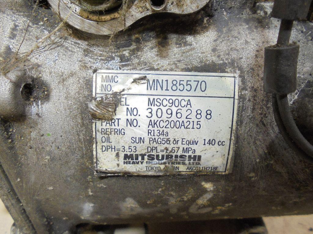 Компрессор системы кондиционирования MN185570