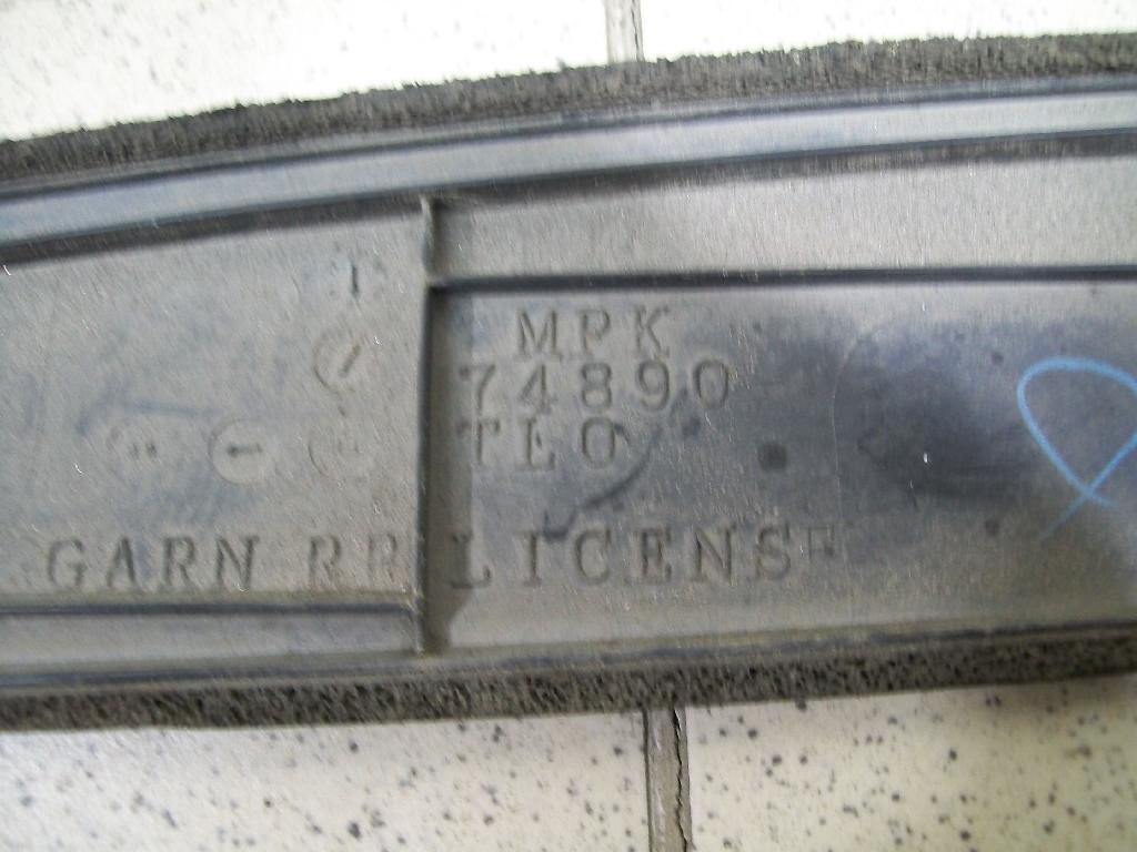 Накладка крышки багажника 74890TL0G00