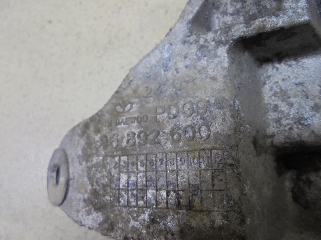 Кронштейн генератора 96892600