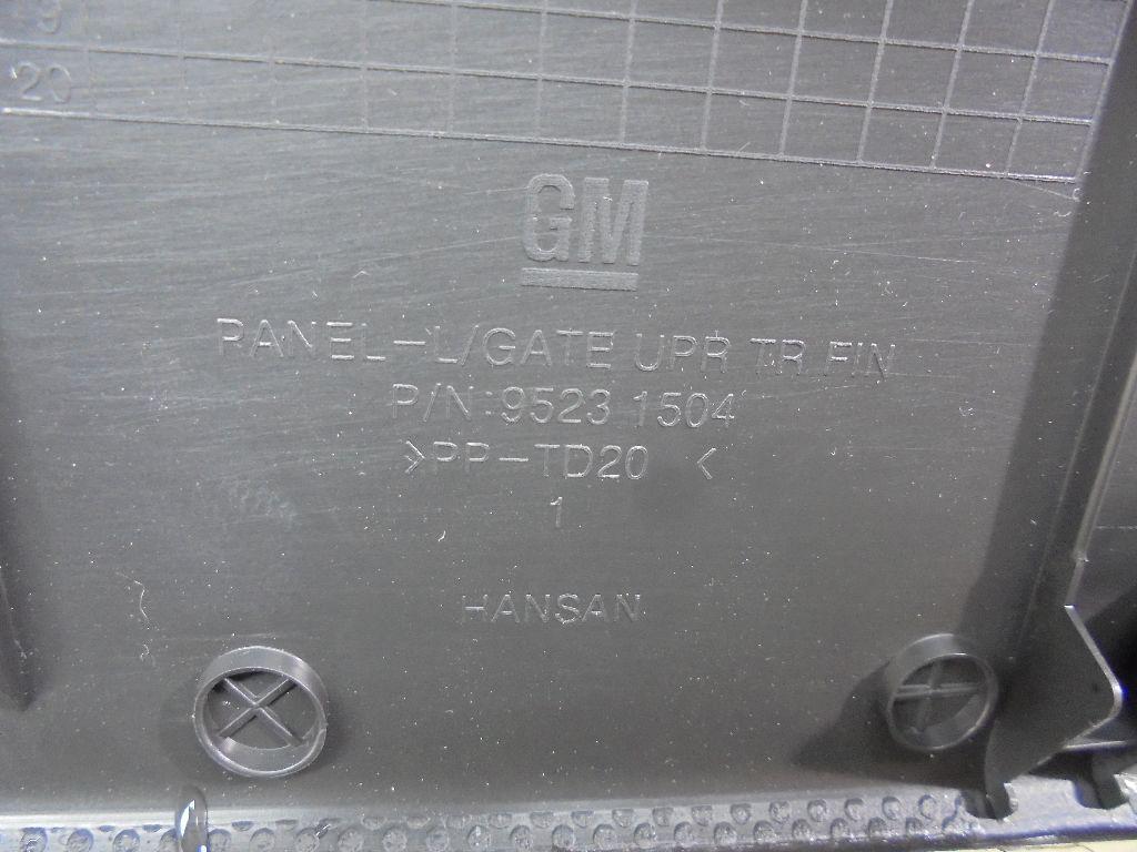Обшивка двери багажника 95913047