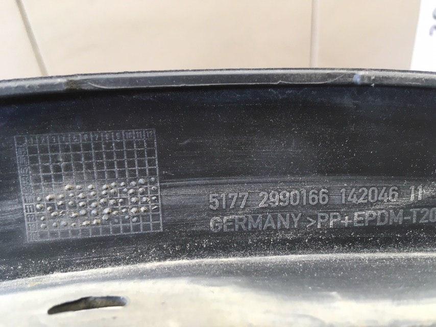 Накладка переднего крыла правого 51772990166