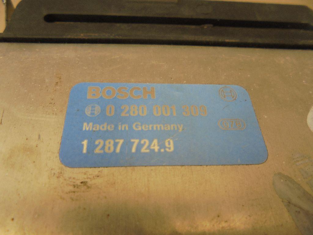 Блок управления двигателем 0280001309