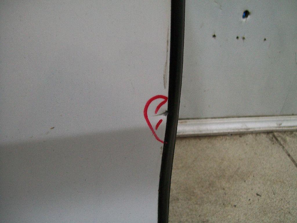 Дверь задняя правая 41007347714