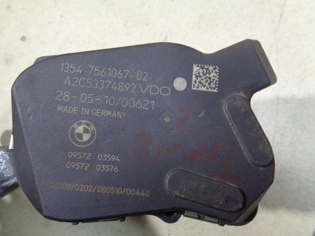 Заслонка дроссельная электрическая 13547561067