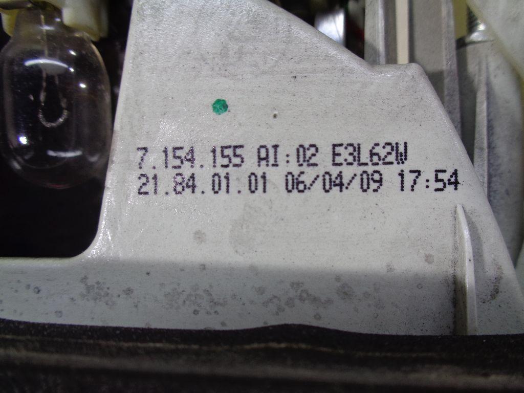Фонарь задний внутренний левый 63217154155